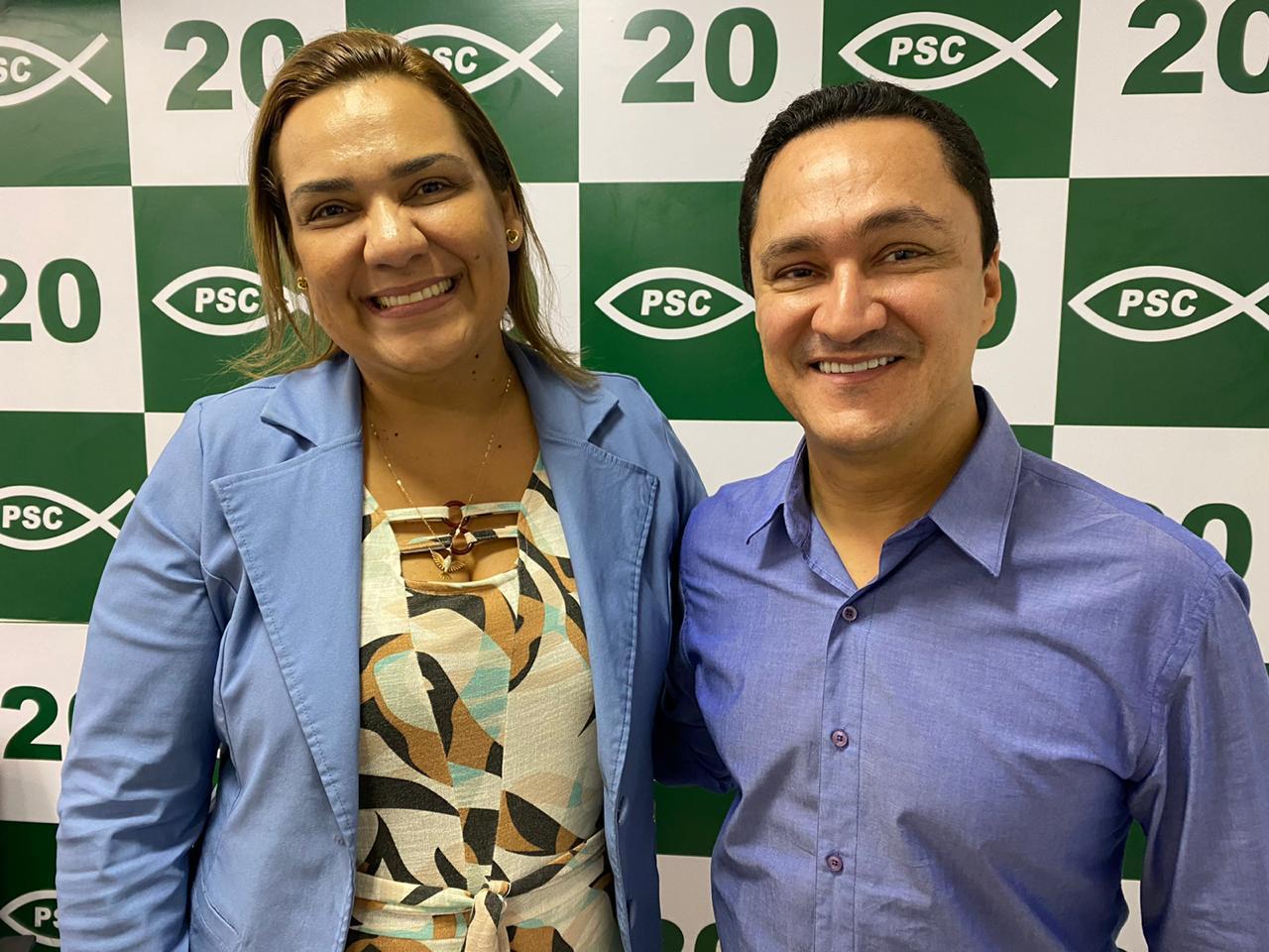 PSC lança Nelly Sampaio à Prefeitura de Tabira | Blog do Mário Flávio